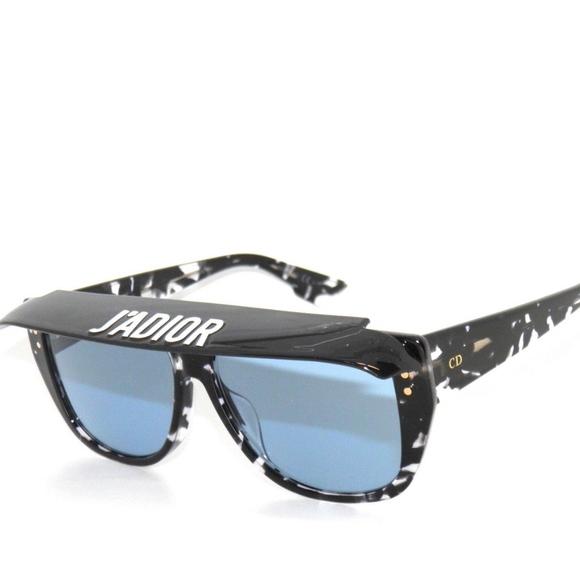 bf9dae5ead Dior Club 2 9WZ KU Black Havana Blue Sunglasses